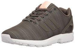 Adidas Originals Women's Shoes Zx Flux Sneakers Utility Grey white 10.5 M Us