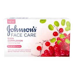 Johnsons - All Skin Types Even Complexion Cleansing Bar 100G
