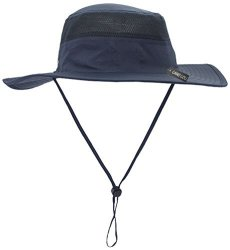 129b89f299706d Camo Coll Outdoor Sun Cap Camouflage Bucket Mesh Boonie Hat Navy Blue One  Size