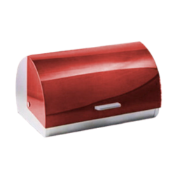 Ahmeds Textiles Colour Bread Bins - Red