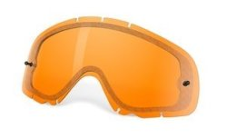 Oakley Crowbar Snow Cross Persimmon Dual Vented Replacement Lens One Size