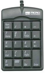 Micro Innovations Numeric Plus Keypad USB KP25B