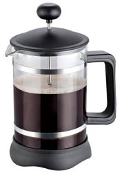 Utopia Kitchen French Press - French Press Coffee Maker - Easy To Disassemble - Easy To Clean - Chrome & Black Black -