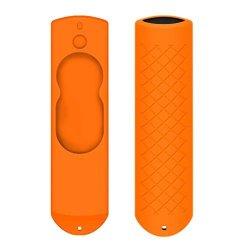 Sandistore Case For Amazon Fire Tv 5.9INCH Stick Voice Remote Anti Slip Shock Proof Case Cover Skin Orange