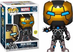 Funko Marvel Iron Man Model 39 Pop Figure Glows In The Dark Aaa Anime Exclusive