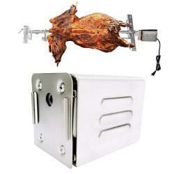Yjingrui Grill Rotisserie Motor Bbq Rotisserie Motor 90LB 40KG 15W Electric Motor For Pig Goat Chicken Rotisserie Roaster 110V