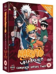 Naruto Unleashed Complete Series 2 - Import DVD