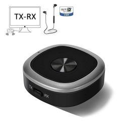 Dytesa Aptx Low Latency Bluetooth Tv Transmitter And Receiver Bluetooth  Splitter 3 5MM Wireless 4 1 Bluetooth Aptx-hd Audio Adap   R869 00    Bluetooth
