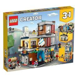 Lego Creator 3-IN-1 Townhouse Pet Shop & Caf