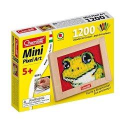 Quercetti MINI Pixel Art Frog Pegboard Set