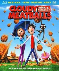 Cloudy With A Chance Of Meatballs Region A Blu-ray