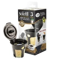 Solofill SFILK3GOLD - K3 Gold Cup 24K Plated Refillable Filter Cup For Keurig