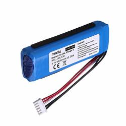 Miady 6000MAH 22.2WH 3.7V Li-polymer Bluetooth Speaker Replacement Battery For Jbl Charge 3 2016 Version Fits Jbl GSP1029102A