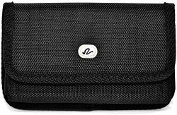 Wonderfly Horizontal Pouch For Htc One E9 Huawei Mate 30 20 9 8 Nokia 3.2 Or Leeco Le MAX2 A Large Heavy Duty Rugged