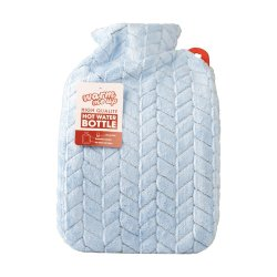 Hot Water Bottle With Cover 2LITRE Leaves