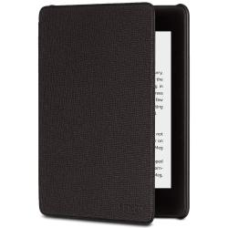 Amazon In Stock Now Shipping Original Kindle Paperwhite Leather Cover 10TH GENERATION-2018 Model Black