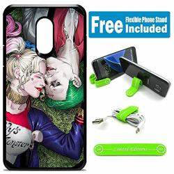 Limited Editions For LG Stylo 3 Stylo 3 Plus LS777 Defender Rugged Hard Cover Case - Joker Harley Quinn Laying