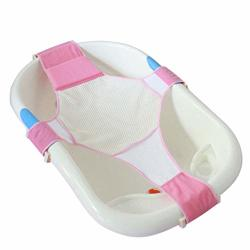 Qisc Newborn Baby Bath Seat Support Net Bathtub Sling Shower Mesh Bathing Cradle Rings For Tub Bathtub Not Included