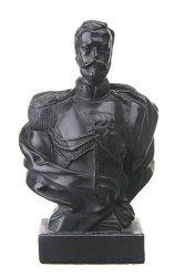 danila-souvenirs French Emperor Napoleon Bonaparte Marble Bust Statue Sculpture 5.3 White