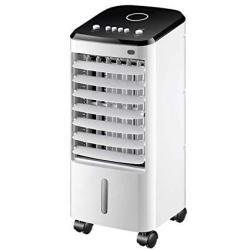 Portable Mobile Air Conditioner Fan With Humidifier Air Purifier Function Blower Air Purifier With Plant Fiber Ice Curtain Water