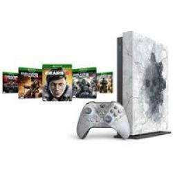 Microsoft Xbox One X Gears 5 Limited Edition Console 1TB