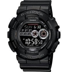 Casio Men's GD100-1BCR G-shock XL Black Multi-functional Digital Sport W...
