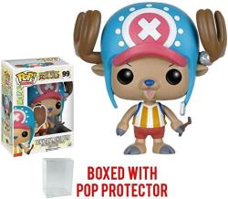 Funko Pop Anime: One Piece - Tony Tony Chopper Vinyl Figure Bundled With Pop Box Protector Case