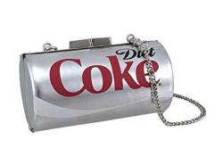 Licensed Diet Coke Can Evening Bag Coca-cola Clutch