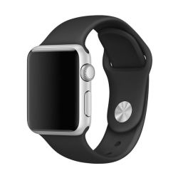 Killerdeals Silicone Strap For 42MM Apple Watch S m - Black