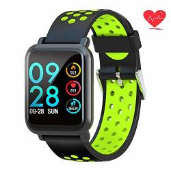 Fitness Tracker Smart Watch Waterproof Activity Tracker With Heart Rate Monitor Calorie Pedometer Sms Call Smart Bracelet For Ios Android Phone Green
