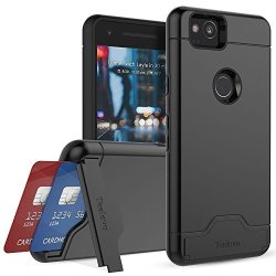 sports shoes c5022 5409f Teelevo Google Pixel 2 Case Card Slot Holder Dual Layer Shock Absorbent  Wallet Case With Credit Card Holder And Kickstand Heavy | R650.00 |  Cellphone ...