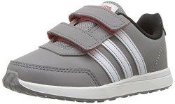 Adidas Baby Vs Switch 2 Cmf Inf Sneaker Grey Three Fabric White Core Black 4K M Us Infant