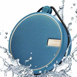 Insmy Portable IPX7 Waterproof Bluetooth Speaker Wireless Outdoor Speaker Shower Speaker With HD Sound Support Tf Card Suction C