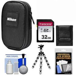 Nikon Coolpix Nylon Digital Camera Carrying Case With 32gb Card
