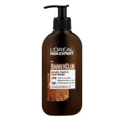 L'oreal Men Expert Barber Club Beard Face & Hair Wash 200ML