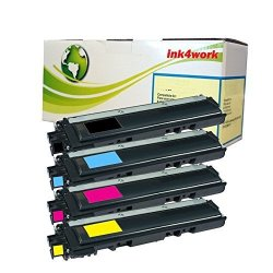 INK4WORK 4 Pack Replacement For Brother TN210 TN-210 B c y m Toner Cartridge For Brother HL-3040CN HL-3045CN HL-3070CW HL-3075CW MFC-9010CN MFC-9120CN MFC-9125CN MFC-9320CW