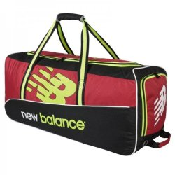 New Balance TC560 Cricket Wheelie Bag Red