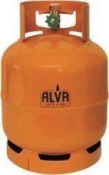 Alva 5KG Gas Cylinder - Orange