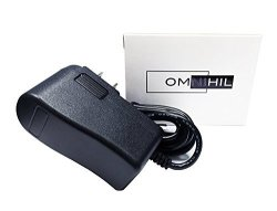 Omnihil Ac dc Power Adapter Compatible With Life Fitness Model: MKD-48091000 Essential Cross-trainer Ite Power Supply Adaptor