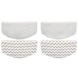 Ximoon 4 Steam Mop Pads Fits Bissell Powerfresh 1940 1440 1544 Series Model 19402 19404 19408 1940A 1940Q 1940T 1940W