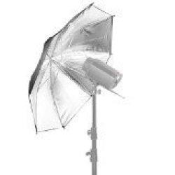 "Neewer 33"" 83CM Photo Studio Black silver Reflective Lighting Umbrella For Photography Studio Flash Light And Location Shoots"