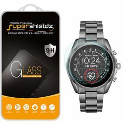 2 Pack Supershieldz For Michael Kors Access Bradshaw 2 Smartwatch Tempered Glass Screen Protector MKT5085 MKT5086 MKT5087 MKT5088 MKT5089 MKT5090 Anti Scratch Bubble Free