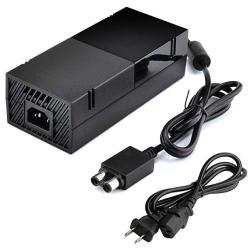 Xbox One Power Supply Brick Ac Adapter Charger Cord Cable For Microsoft Xbox One Game Console Upgraded 2019 Version 100-240V Aut