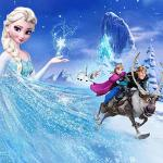 Nidezon Elsa Backdrop 5 Feet 3 Feet Wall Decro Birthday Party Decorations Ice And Snow Photography Banner Ice Castle Background