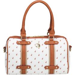 Polo Heritage Barrel Handbag White