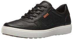 Ecco Men's Soft 7 Retro Fashion Sneaker Black lion 40 EU 6-6.5 M Us