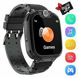 """Kids Smart Watch Phone 1.54"""" HD Touch Screen Games Dial Camera MP3 Music Player Smartwatch Phone Sos Recorder With Christmas Birthday Gifts Learning Toys"""