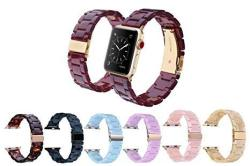 Mobile Advance Resin Band Bracelet For Apple Watch Series 4 3 2 1 Navy 38MM 40MM