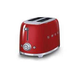 Smeg 2 Slice Toaster in Red