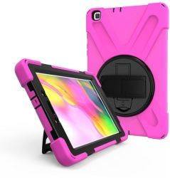 Tuff-luv Armour Jack Case For Galaxy Tab A 8.0 T295 T290 - Pink